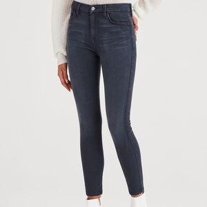 Denim High Waist Ankle Skinny b(air) Jeans.